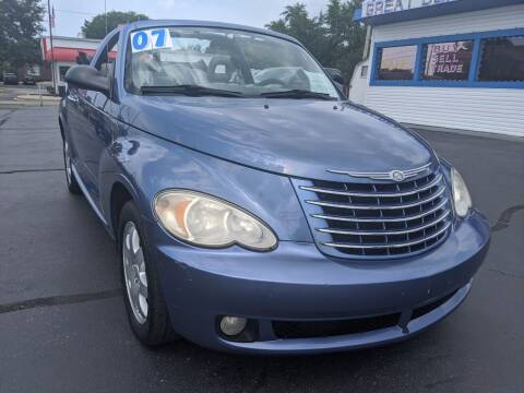 2007 Chrysler PT Cruiser for sale at GREAT DEALS ON WHEELS in Michigan City IN