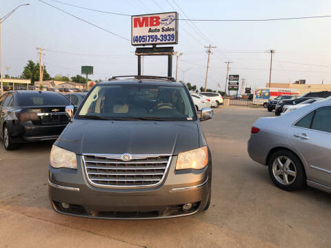 2010 Chrysler Town and Country for sale at MB Auto Sales in Oklahoma City OK