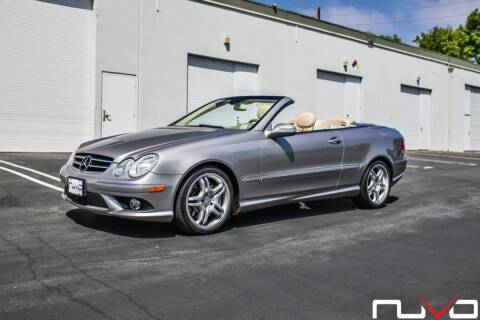 2008 Mercedes-Benz CLK for sale at Nuvo Trade in Newport Beach CA