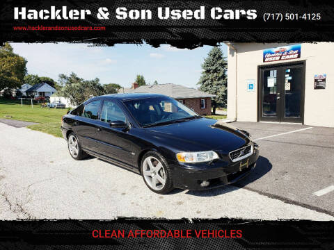 2006 Volvo S60 R for sale at Hackler & Son Used Cars in Red Lion PA