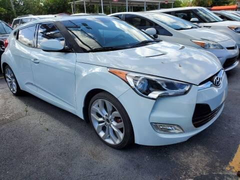 2013 Hyundai Veloster for sale at America Auto Wholesale Inc in Miami FL
