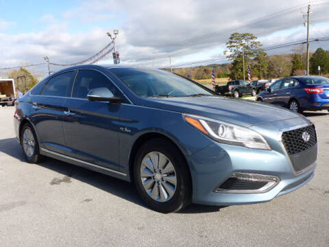 2016 Hyundai Sonata Hybrid for sale at Viles Automotive in Knoxville TN