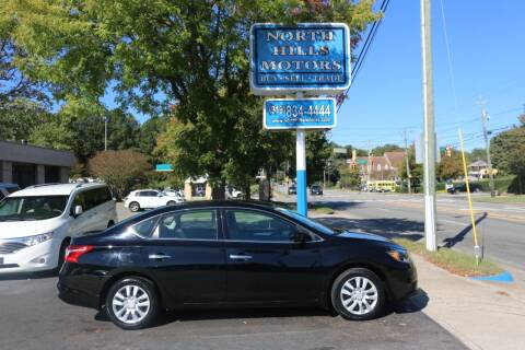 2017 Nissan Sentra for sale at North Hills Motors in Raleigh NC