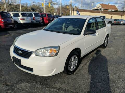 2007 Chevrolet Malibu for sale at Richland Motors in Cleveland OH