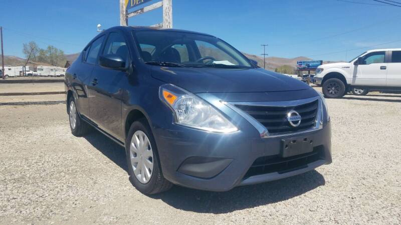 2017 Nissan Versa for sale in Carson City, NV