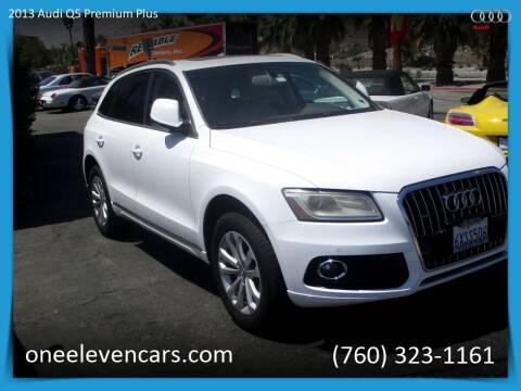 2013 Audi Q5 for sale at One Eleven Vintage Cars in Palm Springs CA
