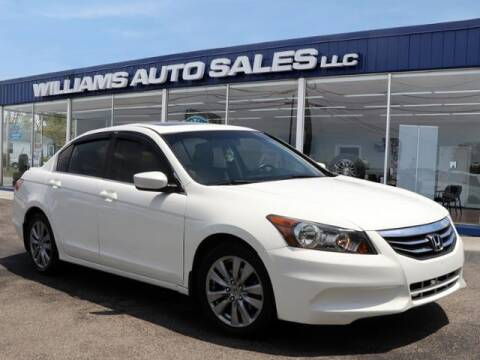 2012 Honda Accord for sale at Williams Auto Sales, LLC in Cookeville TN