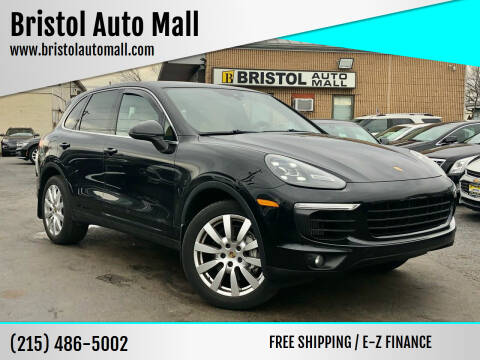 2016 Porsche Cayenne for sale at Bristol Auto Mall in Levittown PA