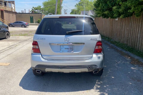 2008 Mercedes-Benz M-Class for sale at FrankBryan Auto & Logistics in Lithia Springs GA