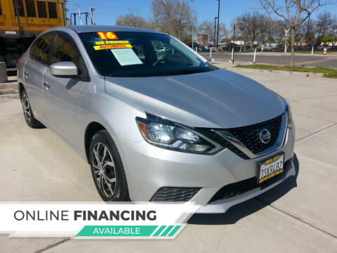 2016 Nissan Sentra for sale at Super Cars Sales Inc #1 in Oakdale CA