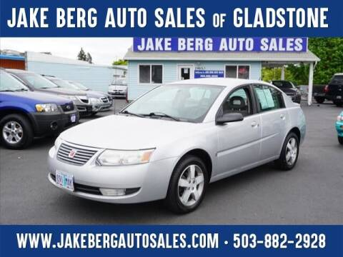 2007 Saturn Ion for sale at Jake Berg Auto Sales in Gladstone OR