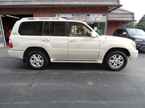 2003 Lexus LX 470 for sale at AUTOWORKS OF OMAHA INC in Omaha NE