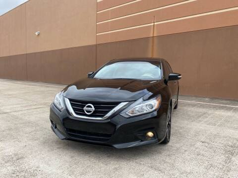 2018 Nissan Altima for sale at ALL STAR MOTORS INC in Houston TX