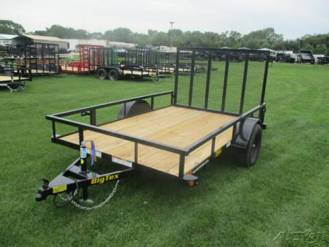 2022 Big Tex Single Axle Utility 35SA-10BK4 for sale at Rondo Truck & Trailer in Sycamore IL
