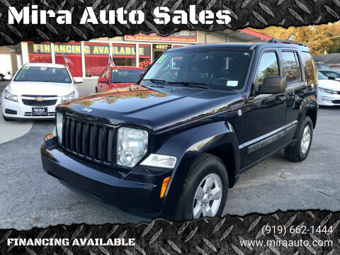 2011 Jeep Liberty for sale at Mira Auto Sales in Raleigh NC