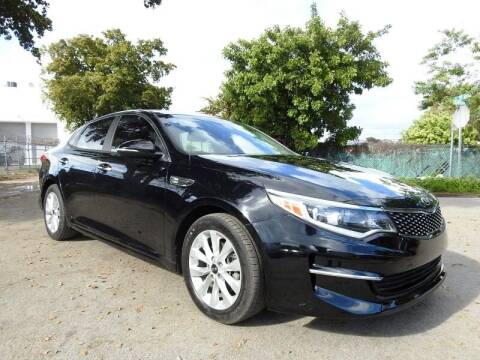 2017 Kia Optima for sale at SUPER DEAL MOTORS in Hollywood FL