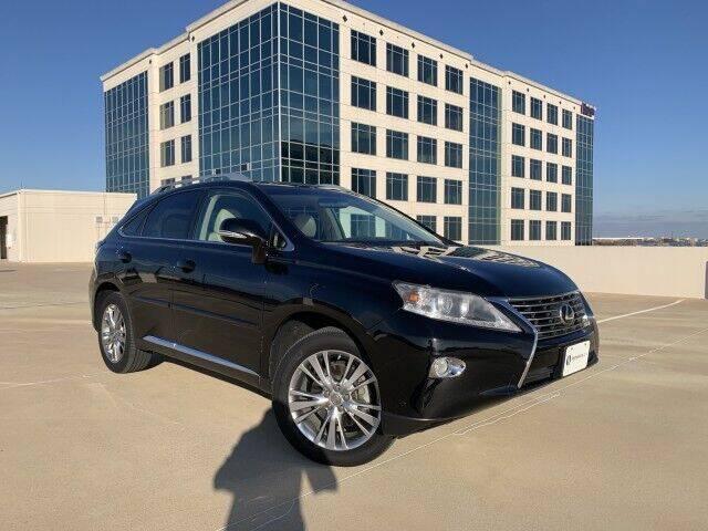 2013 Lexus RX 350 for sale at SIGNATURE Sales & Consignment in Austin TX