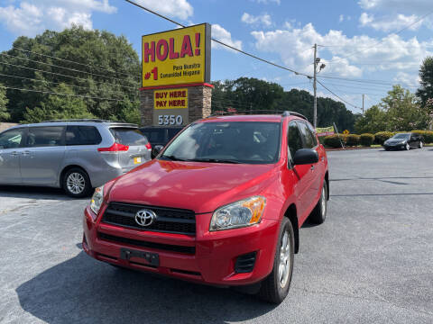 2010 Toyota RAV4 for sale at No Full Coverage Auto Sales in Austell GA