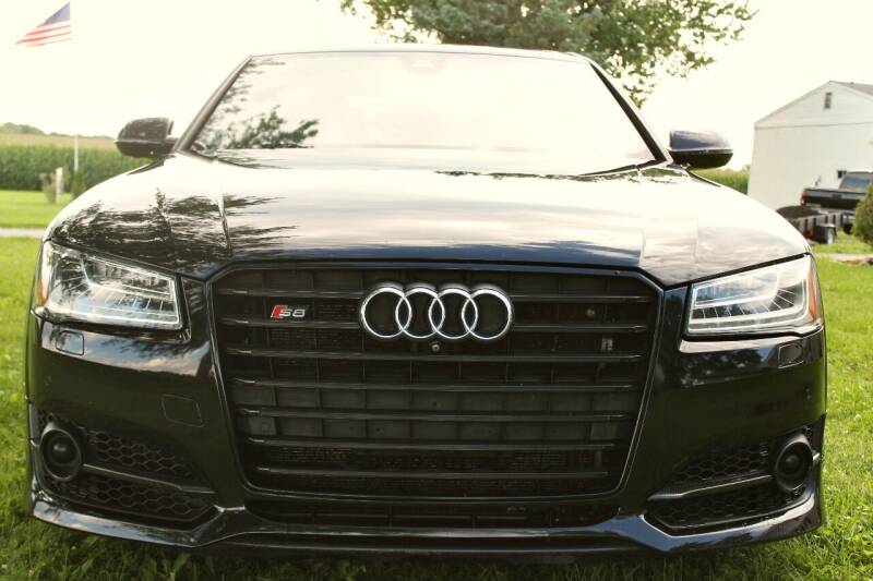 2016 Audi S8 plus for sale at THOMPSON & SONS USED CARS in Marion OH
