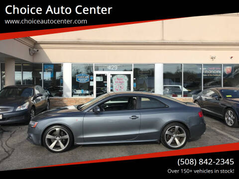 2014 Audi S5 for sale at Choice Auto Center in Shrewsbury MA