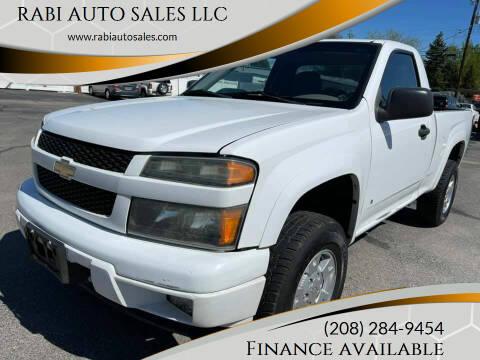 2008 Chevrolet Colorado for sale at RABI AUTO SALES LLC in Garden City ID