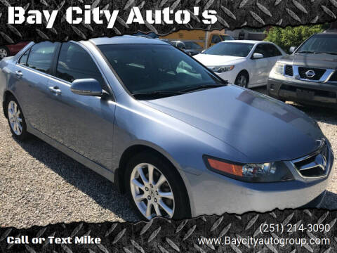 2006 Acura TSX for sale at Bay City Auto's in Mobile AL
