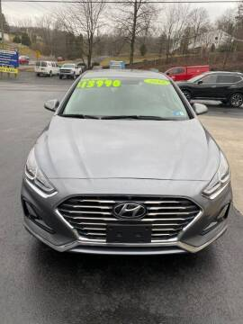 2018 Hyundai Sonata for sale at Route 28 Auto Sales in Ridgeley WV