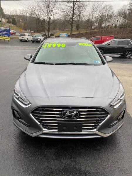 2018 Hyundai Sonata for sale at Route 28 Auto Sales in Ridgeley WV