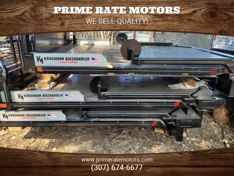 2021 Krogmann Balehandler for sale at PRIME RATE MOTORS in Sheridan WY