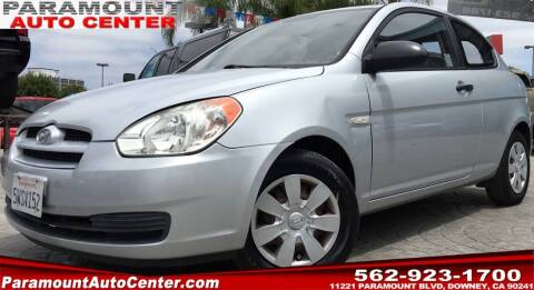 2007 Hyundai Accent for sale at PARAMOUNT AUTO CENTER in Downey CA
