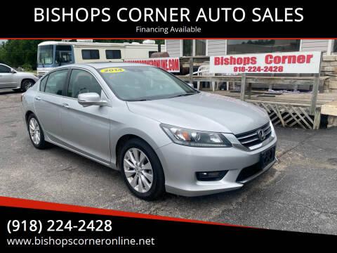 2014 Honda Accord for sale at BISHOPS CORNER AUTO SALES in Sapulpa OK