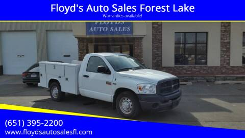 2009 Dodge Ram Pickup 2500 for sale at Floyd's Auto Sales Forest Lake in Forest Lake MN