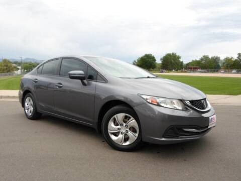 2015 Honda Civic for sale at Nations Auto in Lakewood CO
