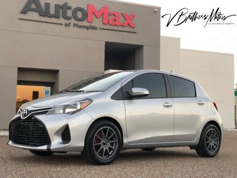 2017 Toyota Yaris for sale at AutoMax of Memphis - V Brothers in Memphis TN
