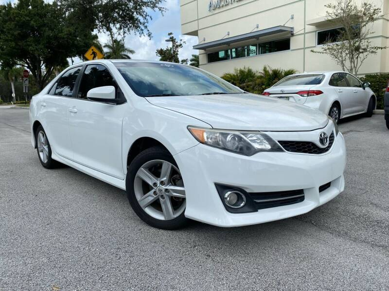 2013 Toyota Camry for sale at Car Net Auto Sales in Plantation FL