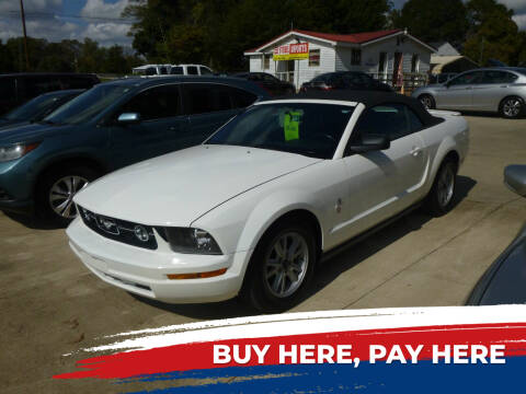 2007 Ford Mustang for sale at Ed Steibel Imports in Shelby NC