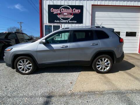 2014 Jeep Cherokee for sale at Casey Classic Cars in Casey IL
