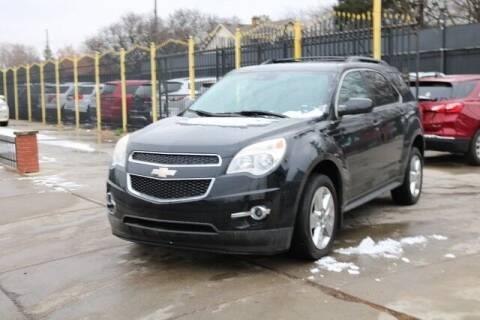 2013 Chevrolet Equinox for sale at F & M AUTO SALES in Detroit MI