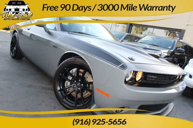 2017 Dodge Challenger for sale at West Coast Auto Sales Center in Sacramento CA