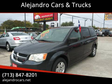 2012 Dodge Grand Caravan for sale at Alejandro Cars & Trucks in Houston TX