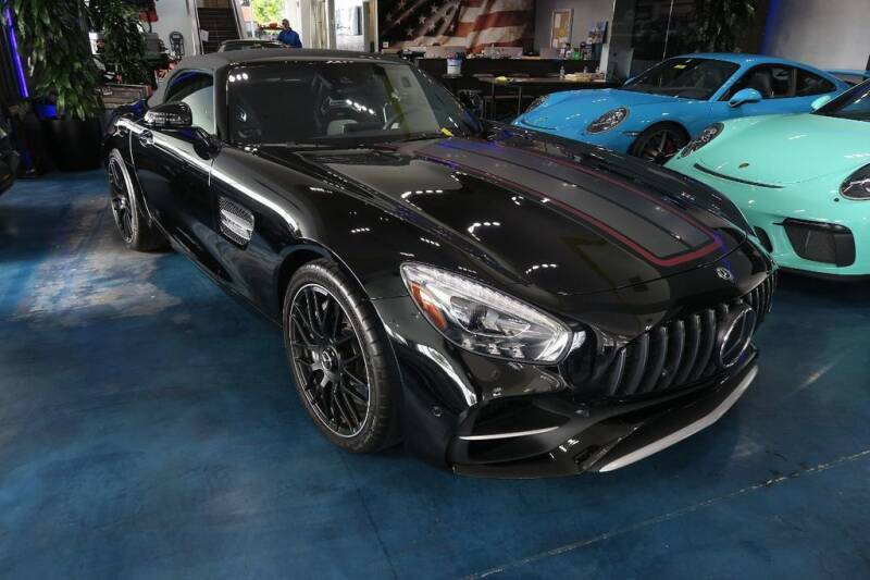 2018 Mercedes-Benz AMG GT for sale at OC Autosource in Costa Mesa CA