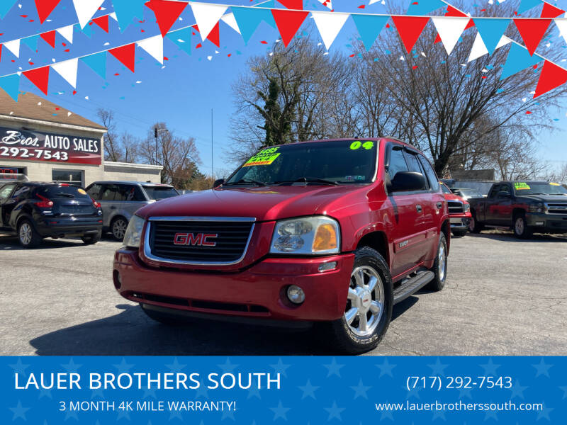 2004 GMC Envoy for sale at LAUER BROTHERS SOUTH in York PA