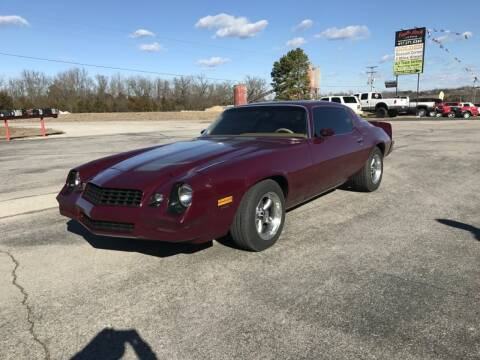 1979 Chevrolet Camaro for sale at EAGLE ROCK AUTO SALES in Eagle Rock MO