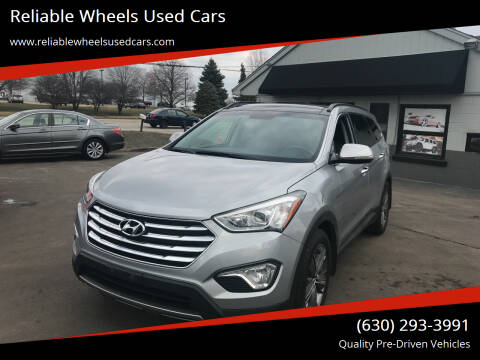 2014 Hyundai Santa Fe for sale at Reliable Wheels Used Cars in West Chicago IL