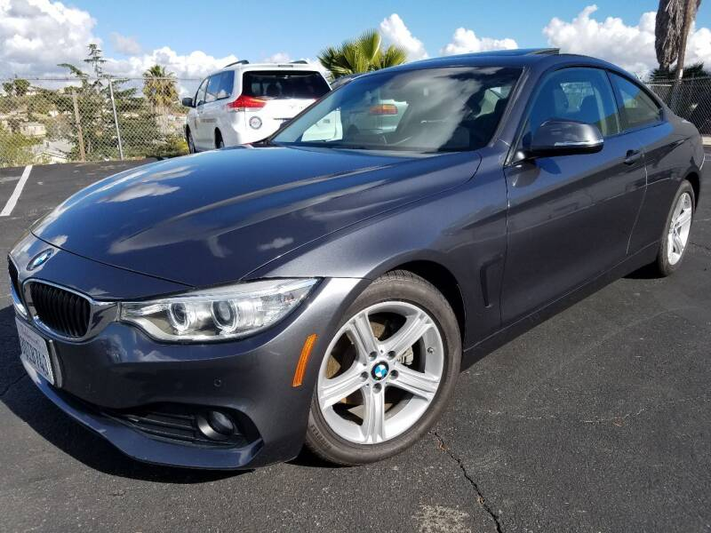 2015 BMW 4 Series for sale at Trini-D Auto Sales Center in San Diego CA