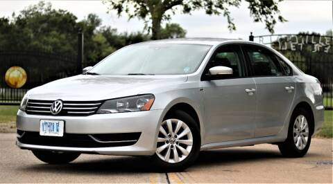 2014 Volkswagen Passat for sale at Texas Auto Corporation in Houston TX