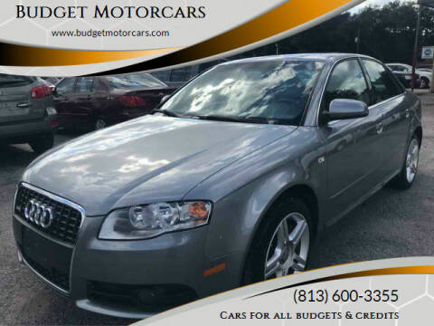 2008 Audi A4 for sale at Budget Motorcars in Tampa FL