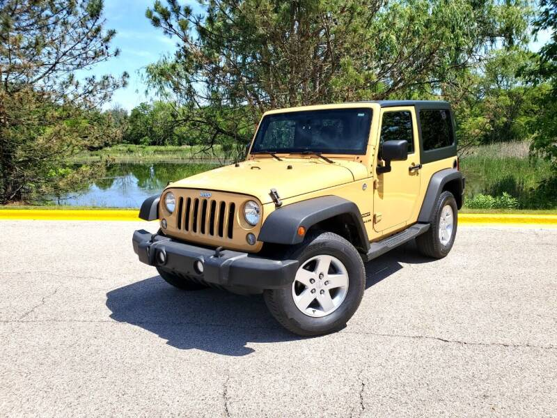 2014 Jeep Wrangler for sale at Excalibur Auto Sales in Palatine IL