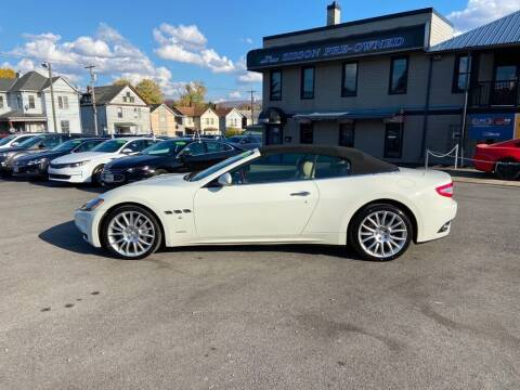2012 Maserati GranTurismo for sale at Sisson Pre-Owned in Uniontown PA