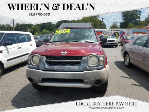 2004 Nissan Xterra for sale at Wheel'n & Deal'n in Lenoir NC